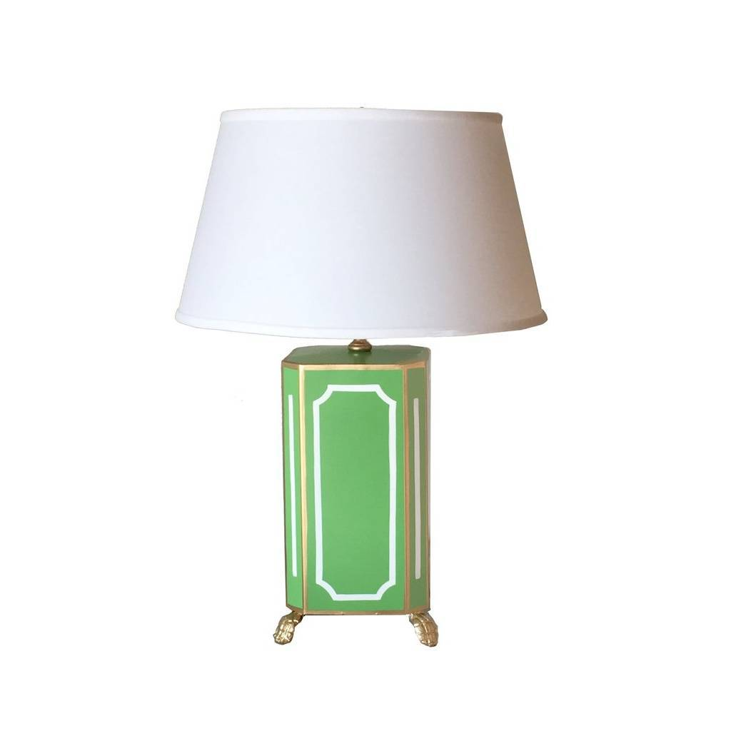 Dana Gibson Devon in Green Lamp