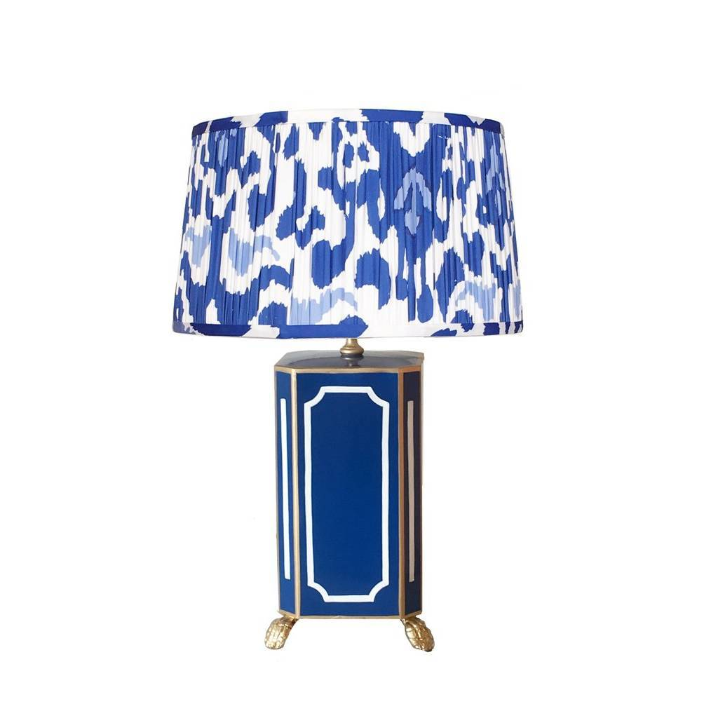 Dana Gibson Devon in Navy Lamp