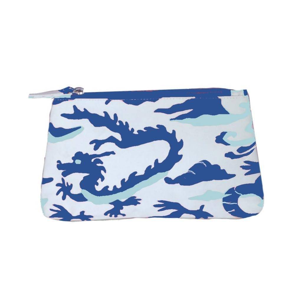 Dana Gibson Dragon in Blue Travel Bag