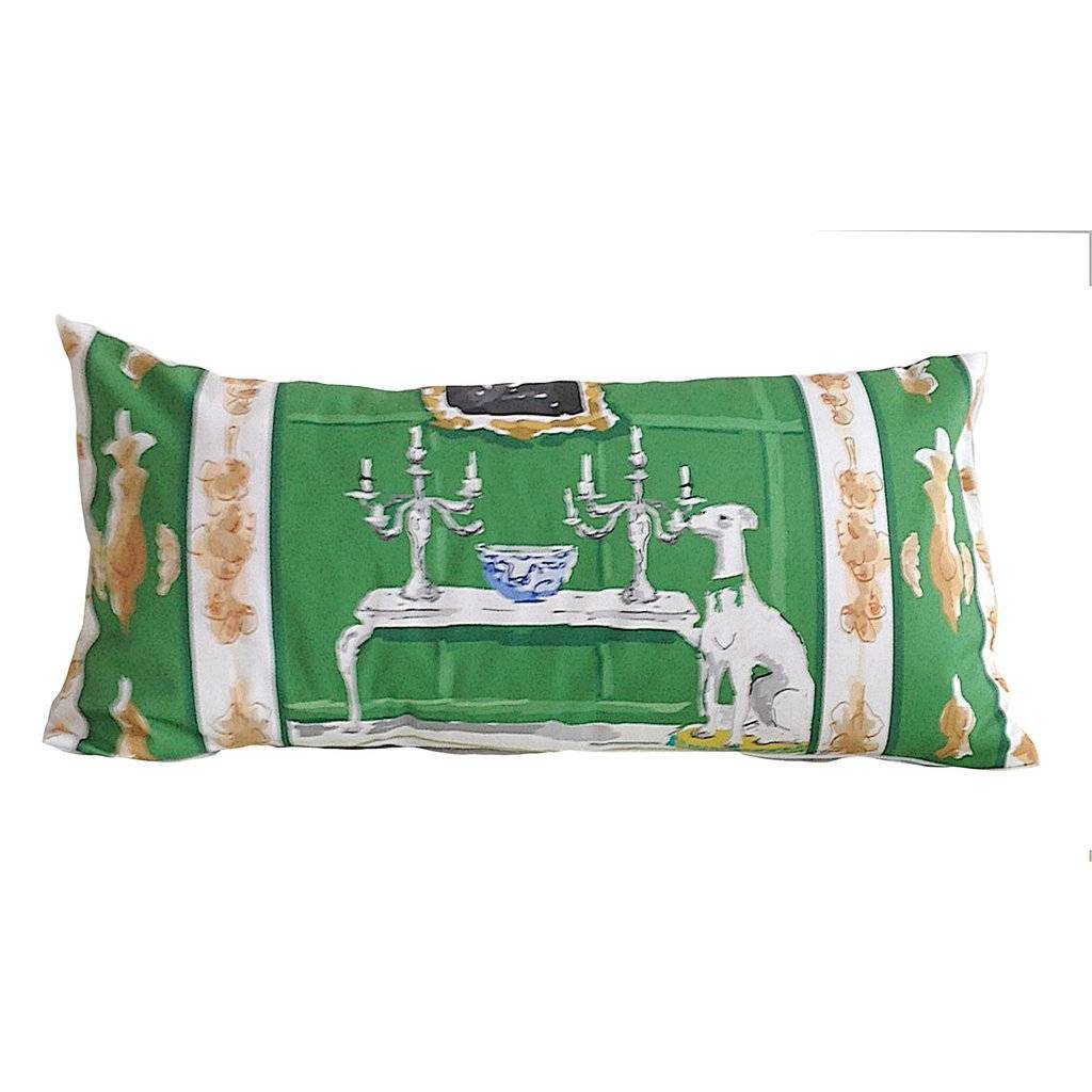 Dana Gibson Green Dog Lumbar