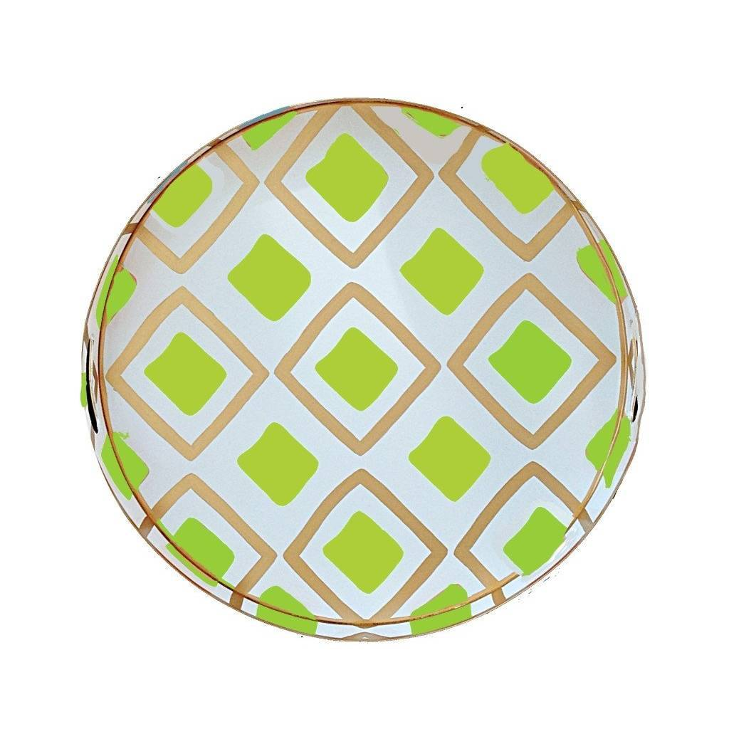 Dana Gibson Haslam in Lime Tray Small