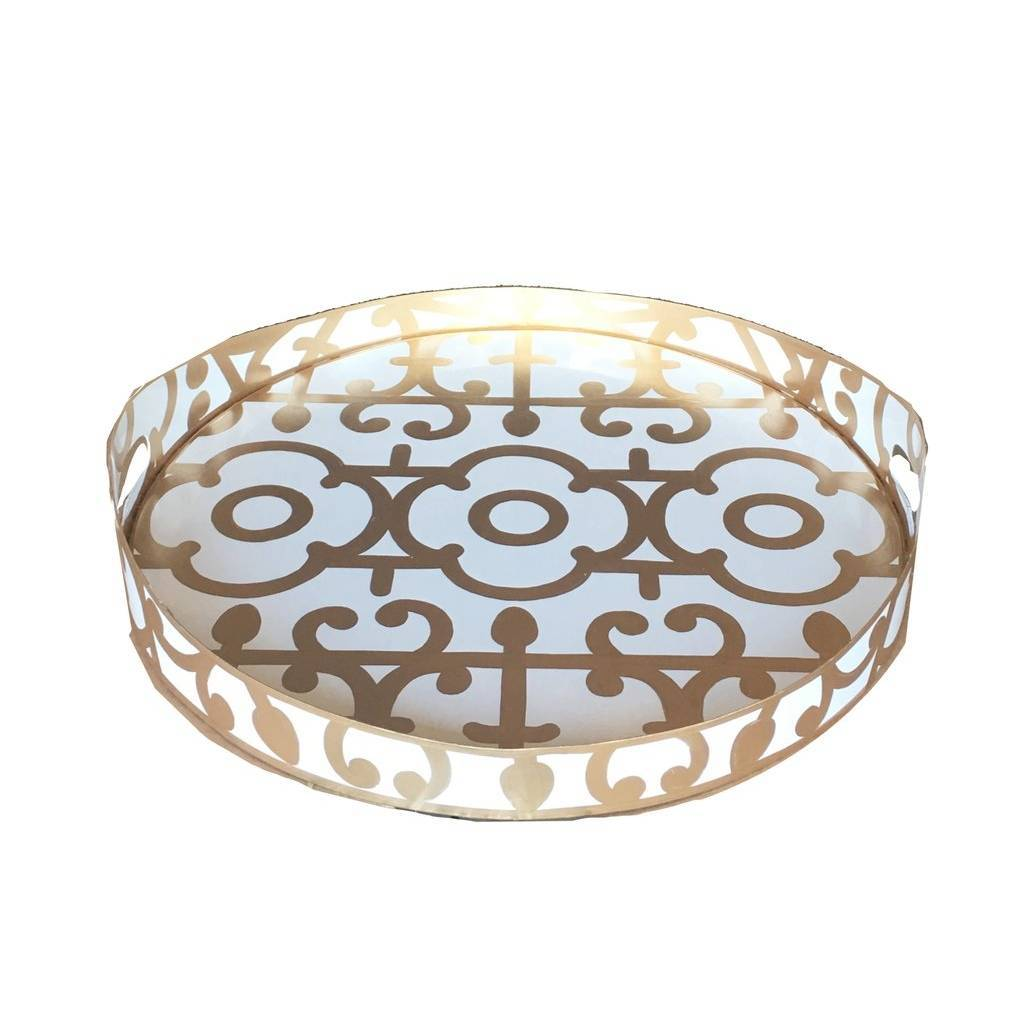 Dana Gibson Klimt in Gold Tray Small