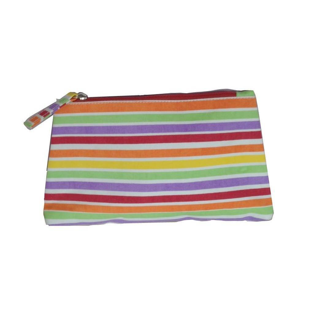 Dana Gibson Multi Stripe Travel Bag