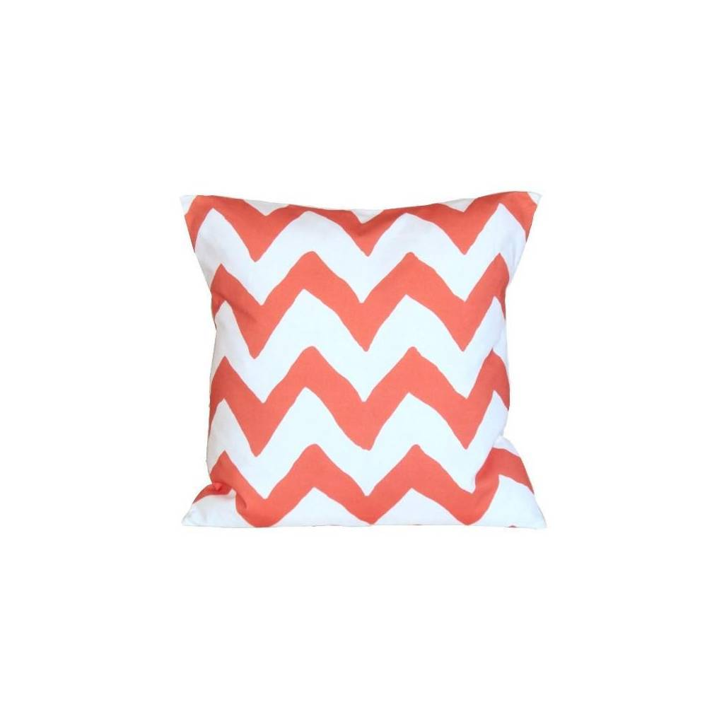 Dana Gibson Orange Bargello Pillow