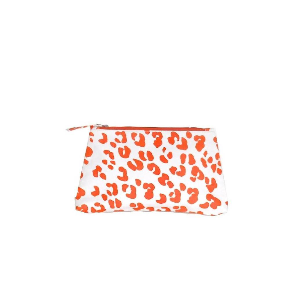 Dana Gibson Orange Ocelot Travel Bag