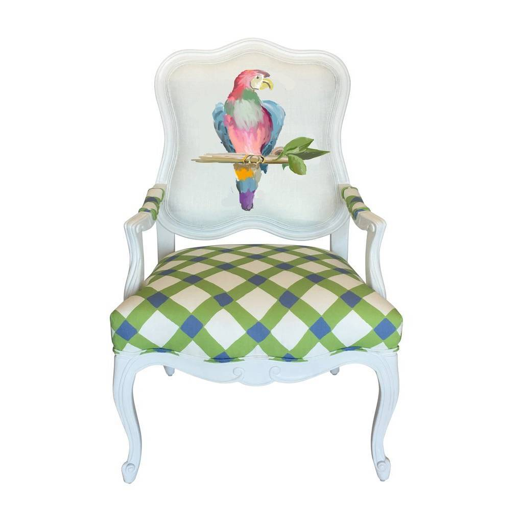 Dana Gibson Parrot Chair in Multi