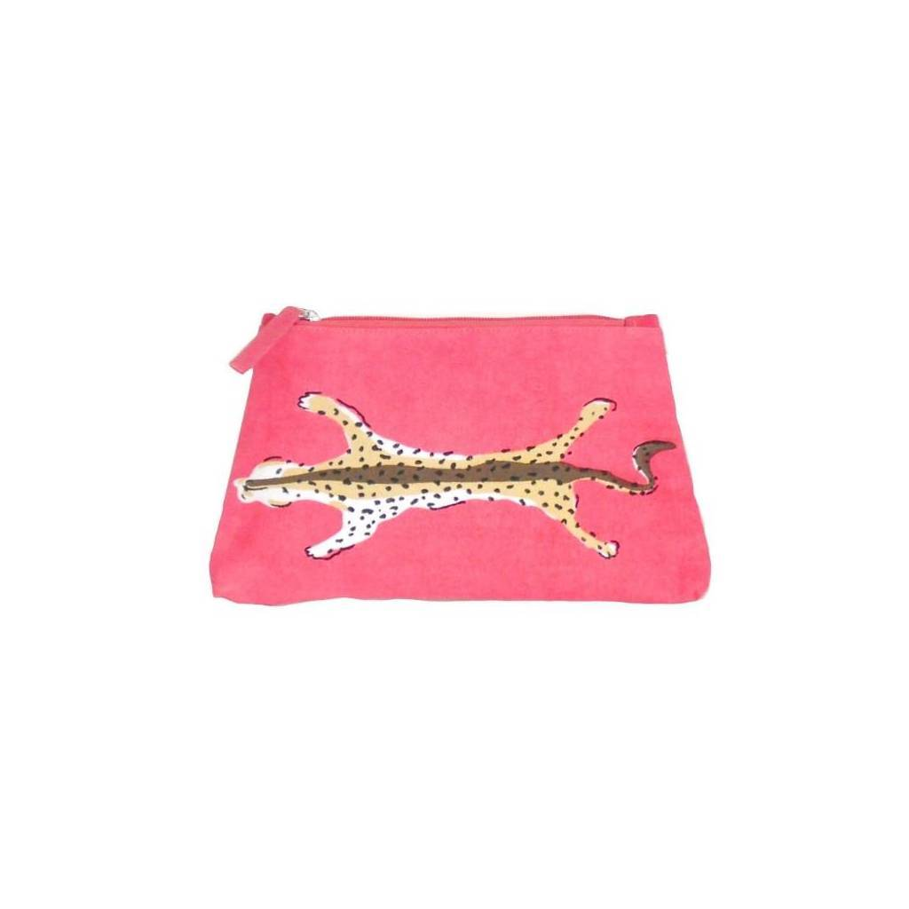 Dana Gibson Pink Leopard Travel Bag