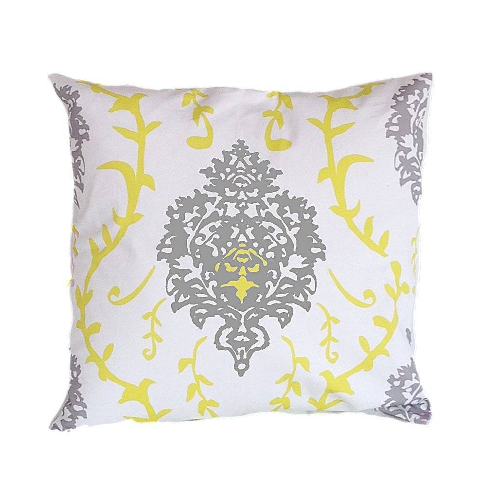 Dana Gibson Yellow Venetto Pillow