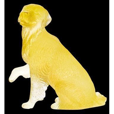 Daum Crystal Golden Retriever 03280