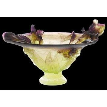 Daum Crystal Iris Bowl 01633