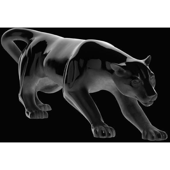 Daum Crystal Panther Black Magnum 03596-1