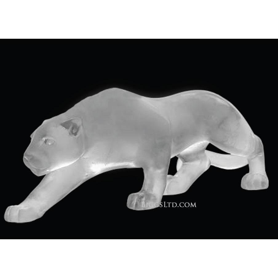 Daum Crystal Panther Grey 02466-2