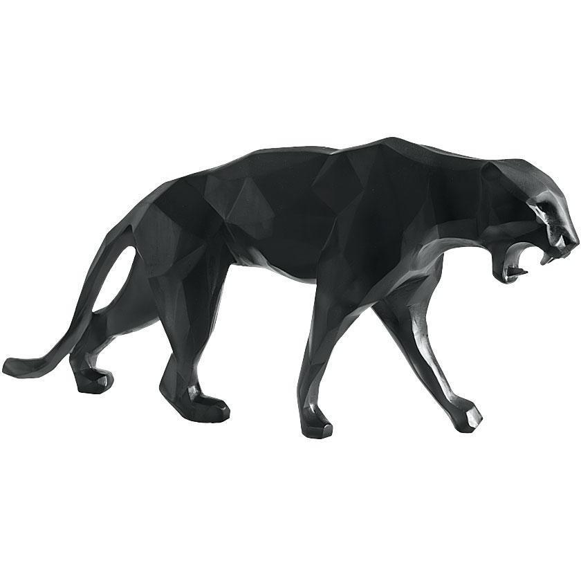 Daum Crystal Panther Wild Black 05323-2