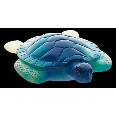 Daum Crystal Sea Turtle Yellow 02691-1