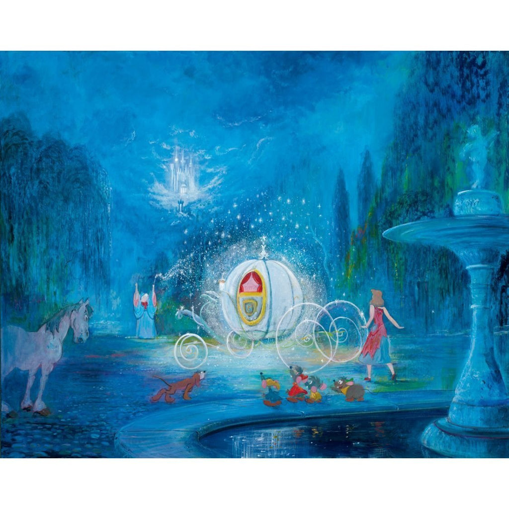 Disney Fine Art A Dream is a Wish Your Heart Makes