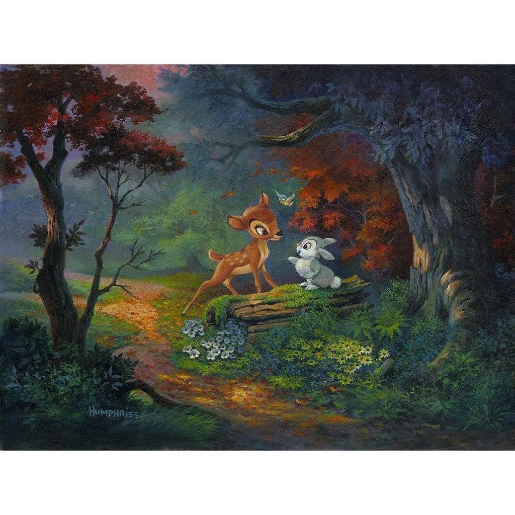 Disney Fine Art A Friendship Blossoms