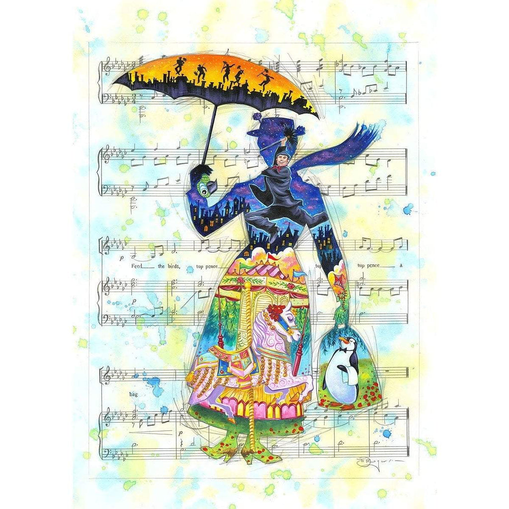 Disney Fine Art A Mary Tune