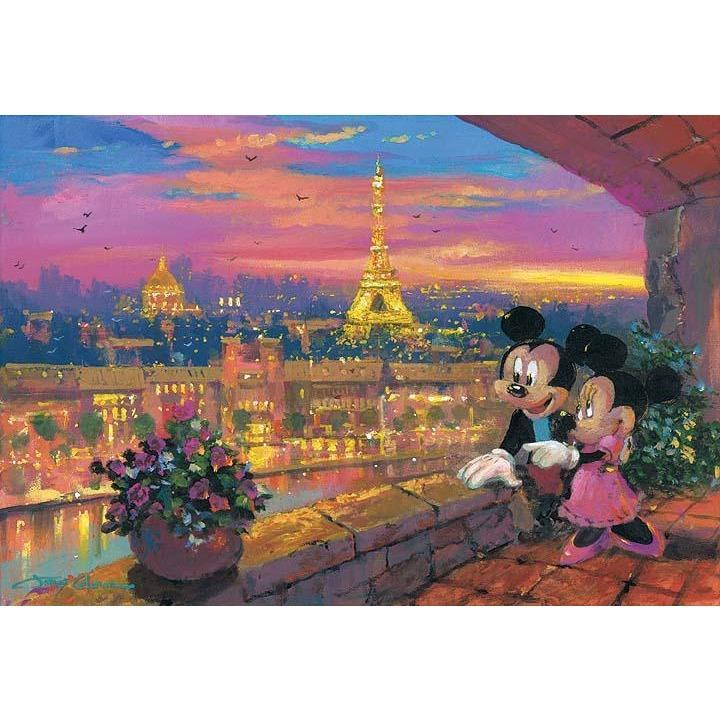 Disney Fine Art A Paris Sunset