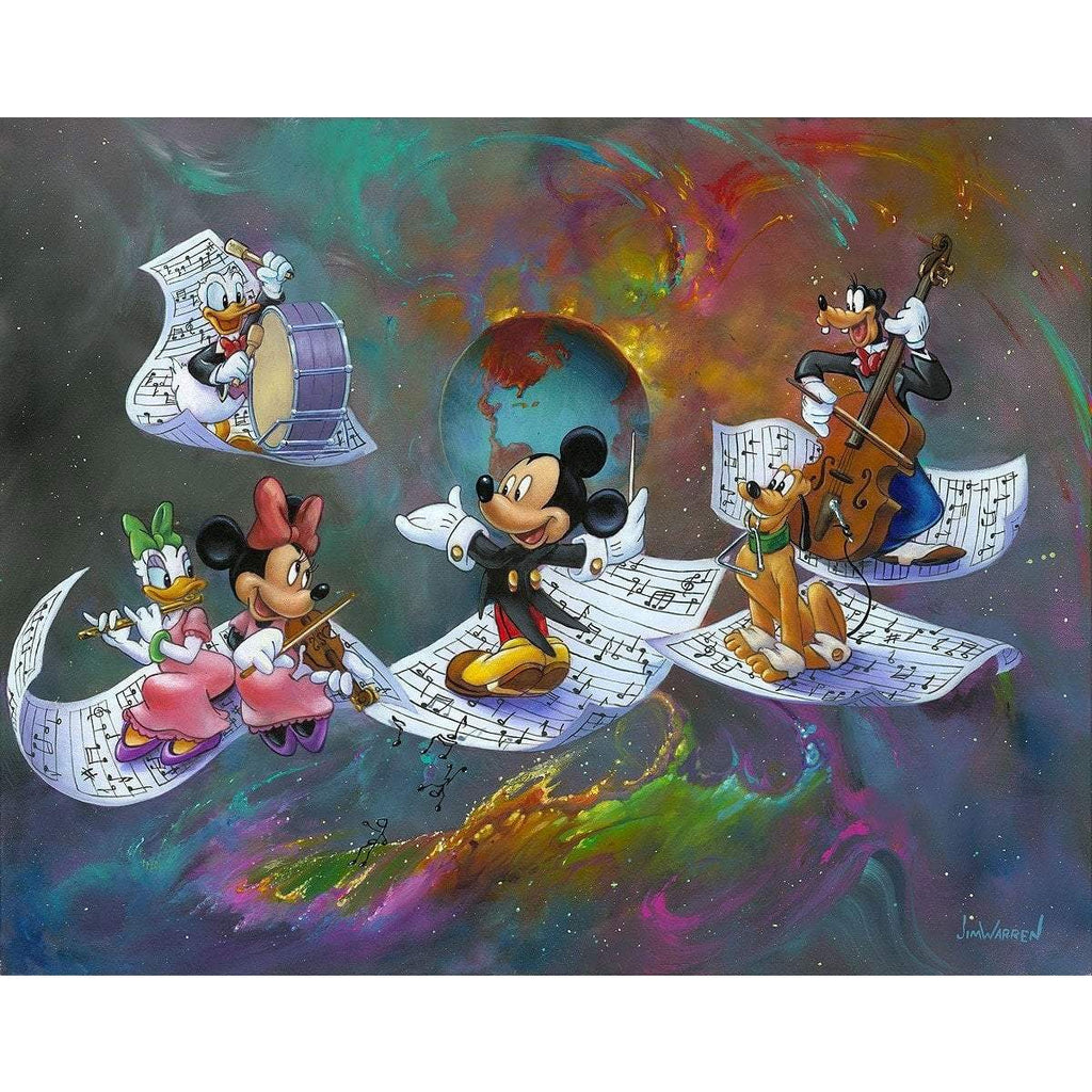 Disney Fine Art A Universe of Music