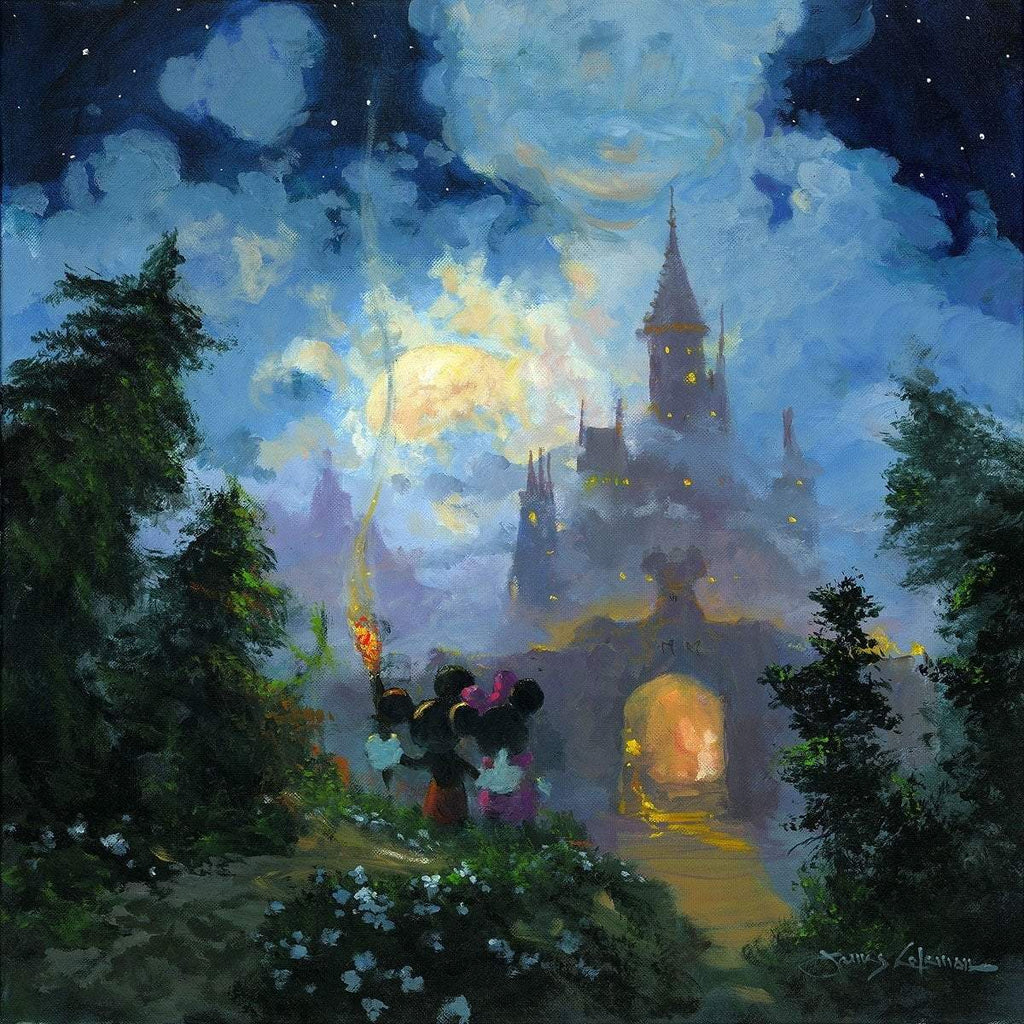 Disney Fine Art Adventure to the Castle Gates Premiere Edition