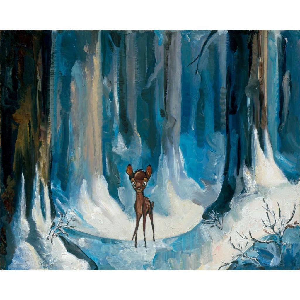 Disney Fine Art Alone in the Woods