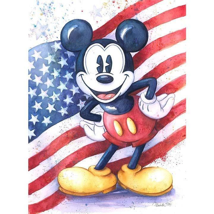 Disney Fine Art American Mouse