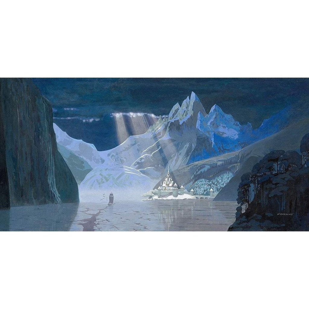 Disney Fine Art Arendelle in Winter