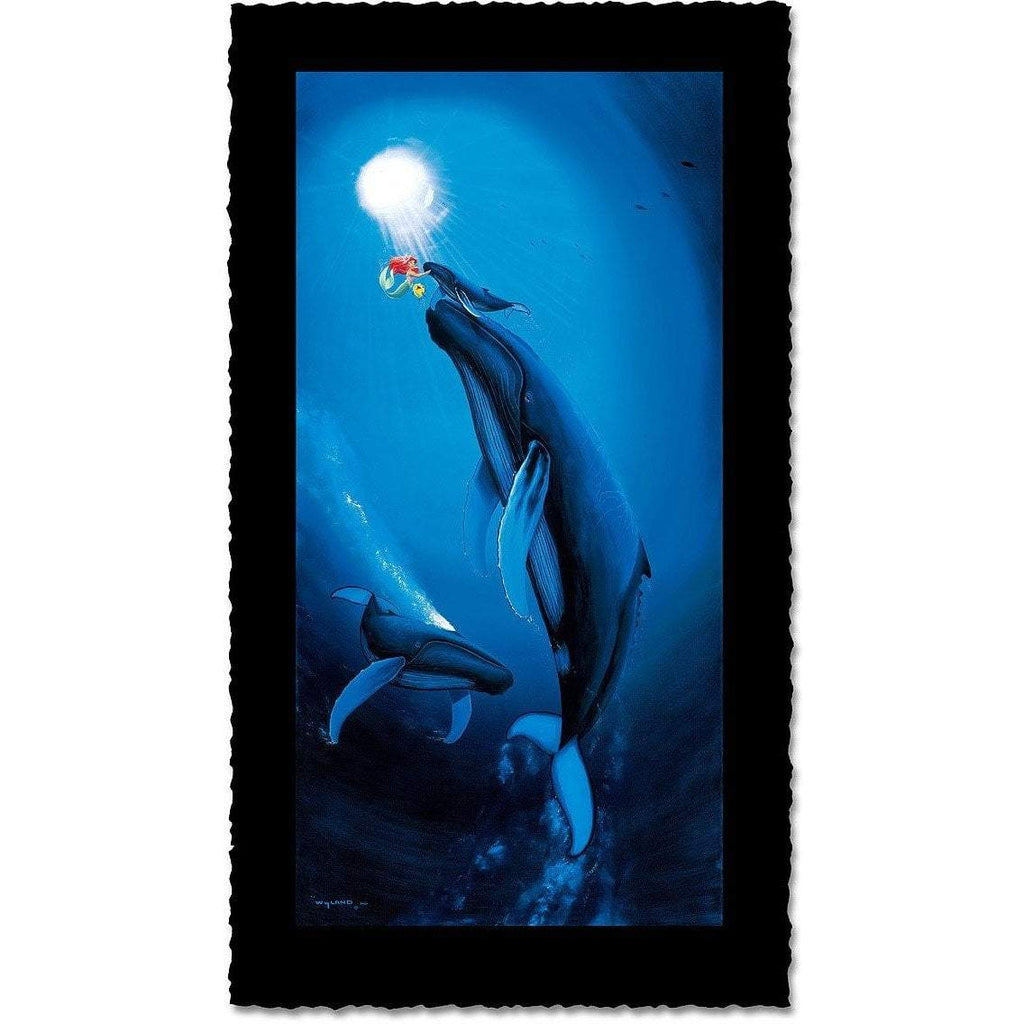Disney Fine Art - Ariel's First Breath - Artist Proof