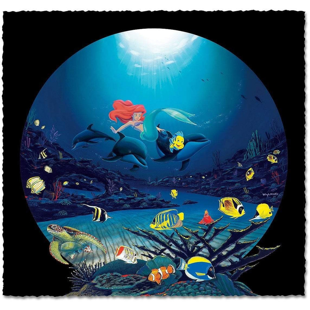Disney Fine Art - Ariel's Ocean Ride