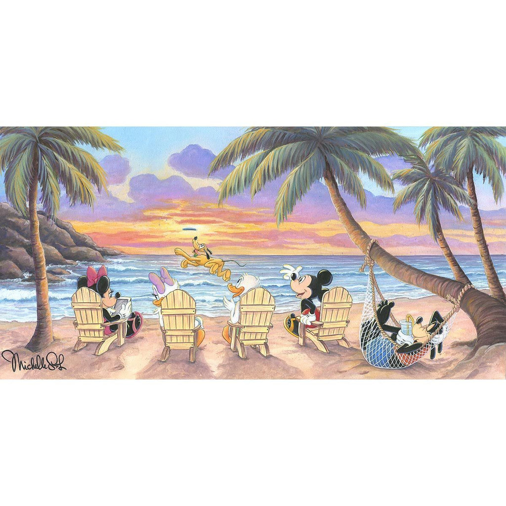 Disney Fine Art Beautiful Day at the Beach