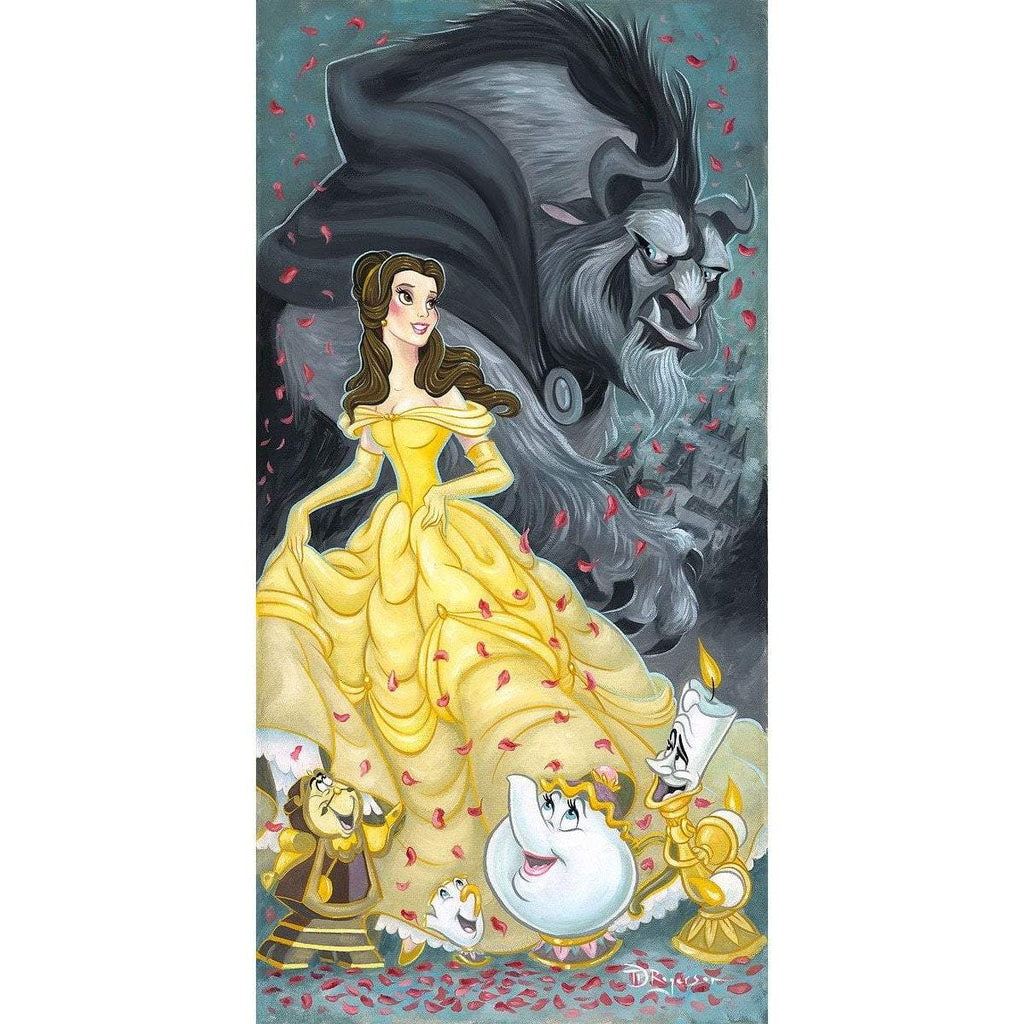 Disney Fine Art Belle and the Beast