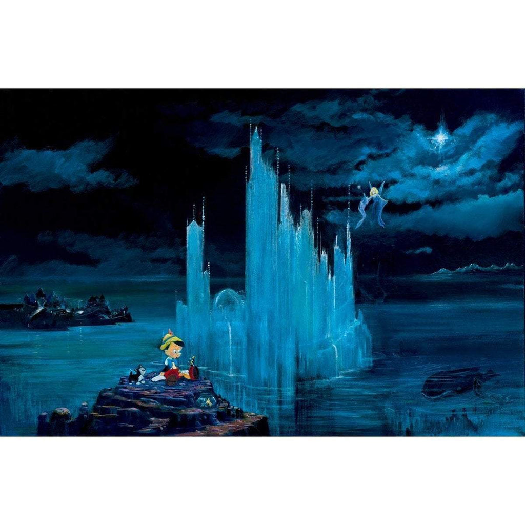 Disney Fine Art Blue Castle