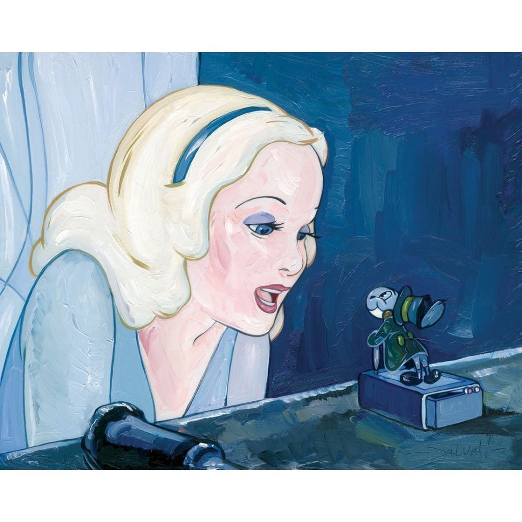 Disney Fine Art Blue Fairy