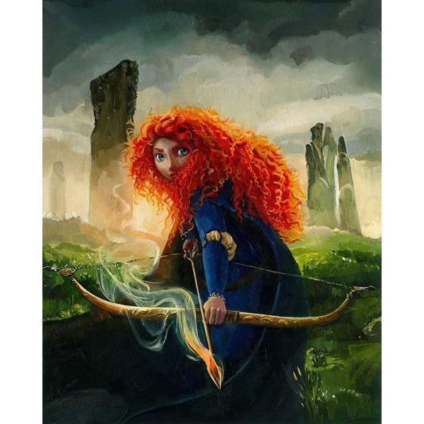 Disney Fine Art Brave Merida