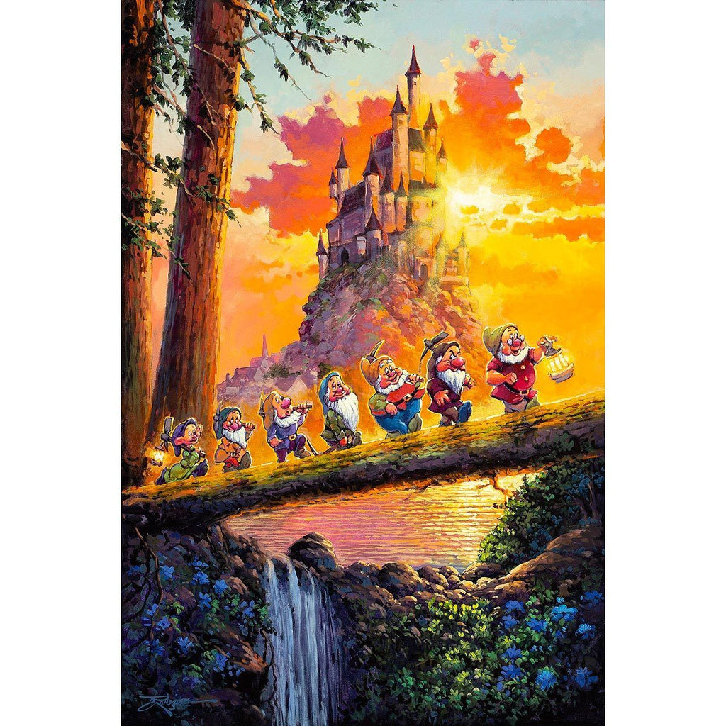 Disney Fine Art Castle on the Horizon Premiere Edition