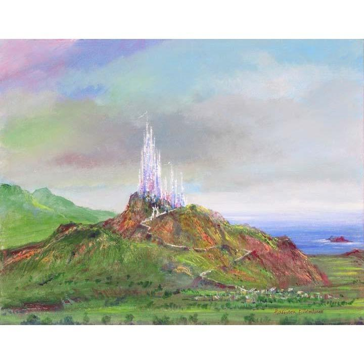 Disney Fine Art Castle Rock