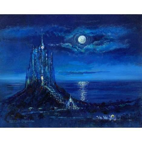Disney Fine Art Cinderella's Moonlight Arrival