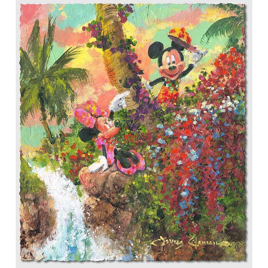Disney Fine Art Colorful Island
