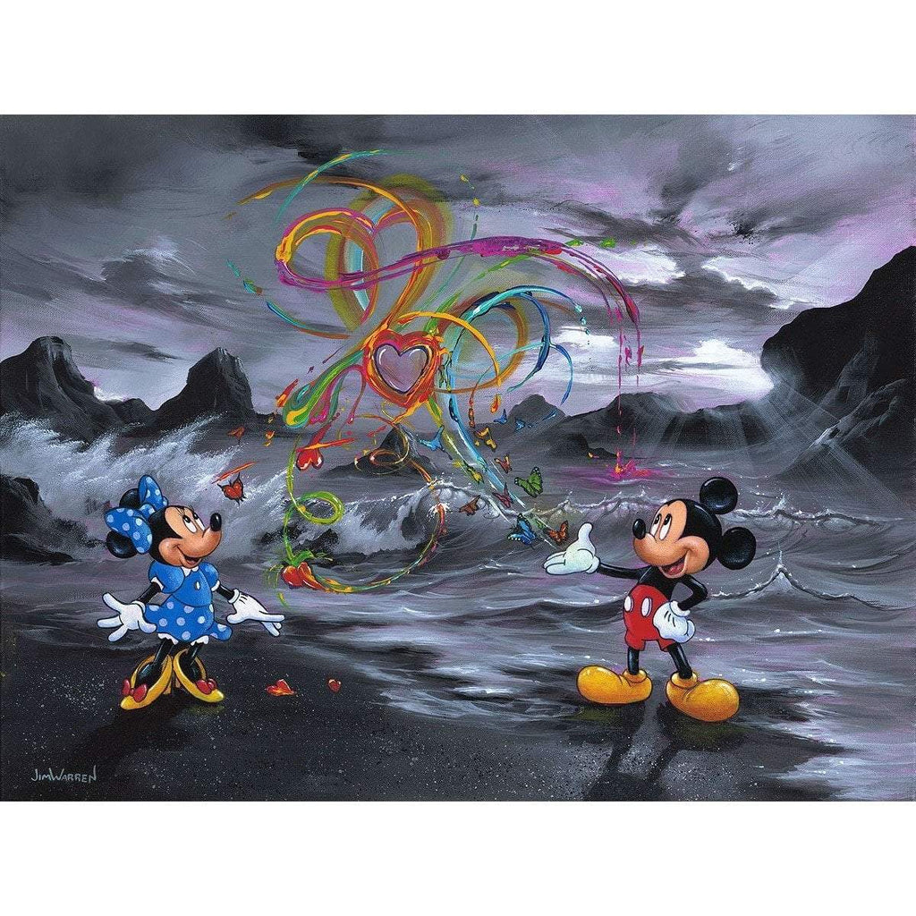 Disney Fine Art Colors Of Love