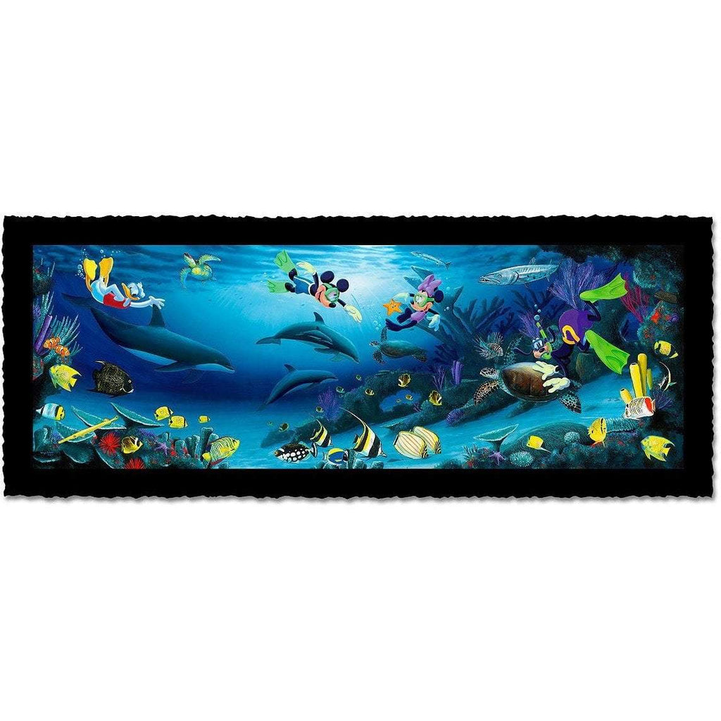 Disney Fine Art Disney Dive Buddies Artist Proof