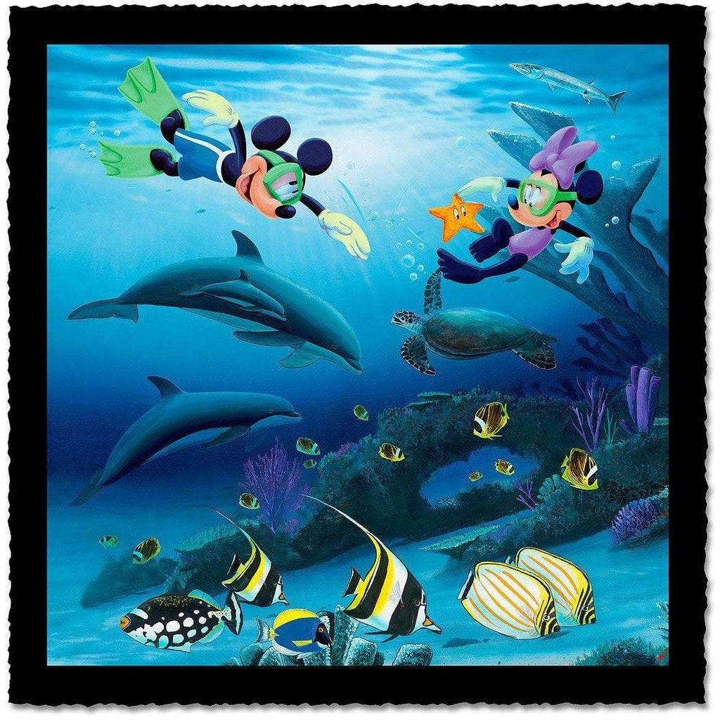 Disney Fine Art Dive Buddies Artist Proof