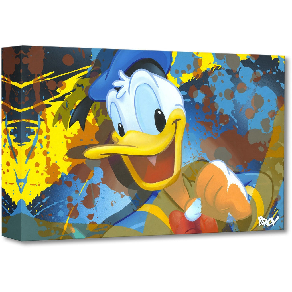 Disney Fine Art Donald Duck