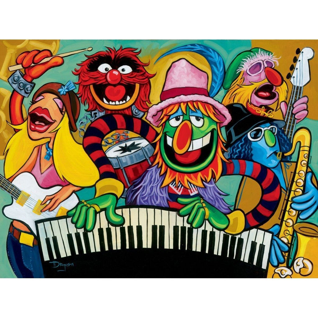 Disney Fine Art Electric Mayhem Band