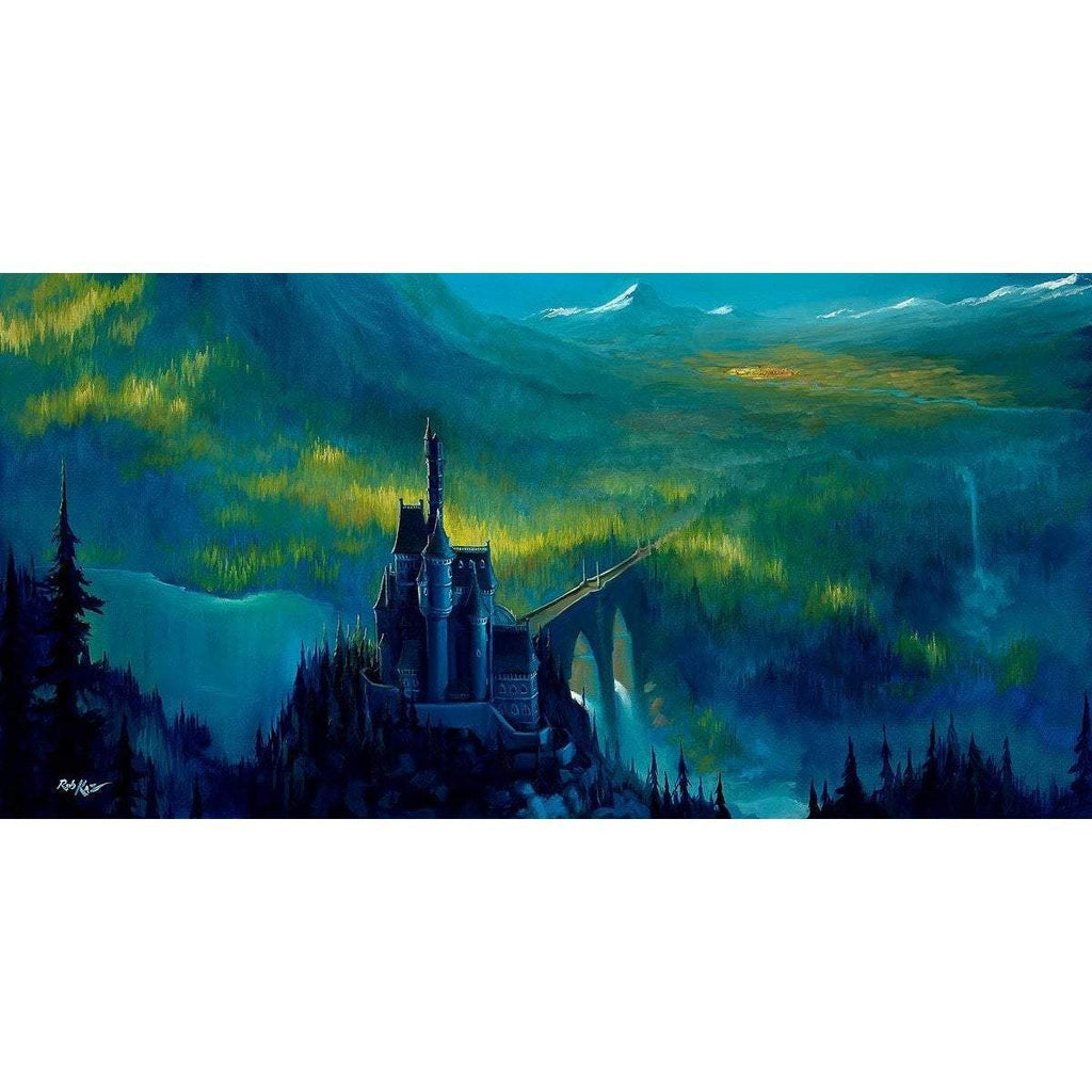 Disney Fine Art Enchanted Castle