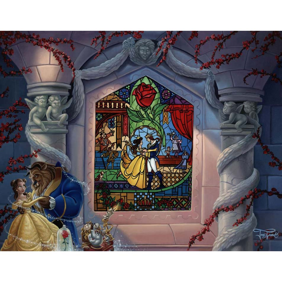 Disney Fine Art - Enchanted Love