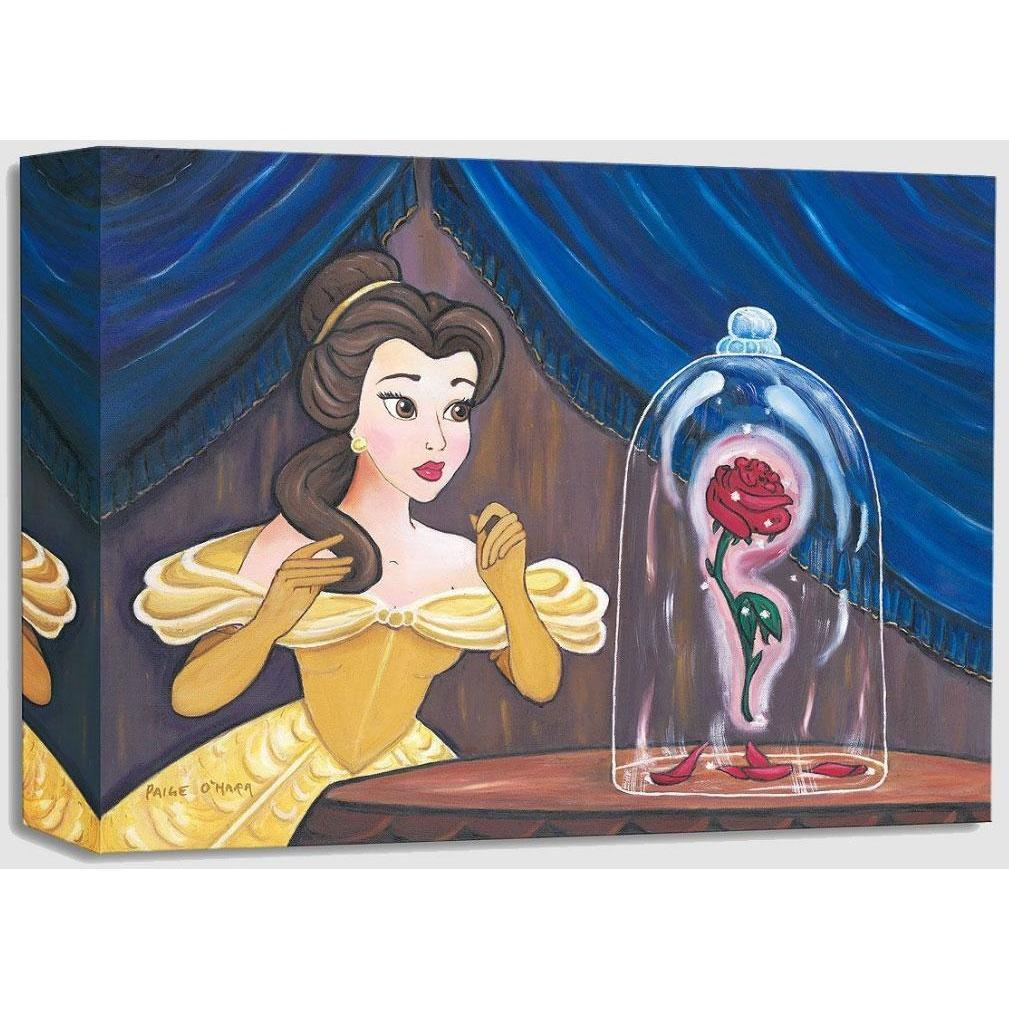 Disney Fine Art Enchanted Rose