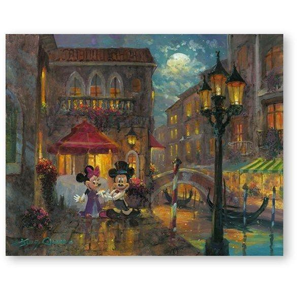 Disney Fine Art Evening Anniversary