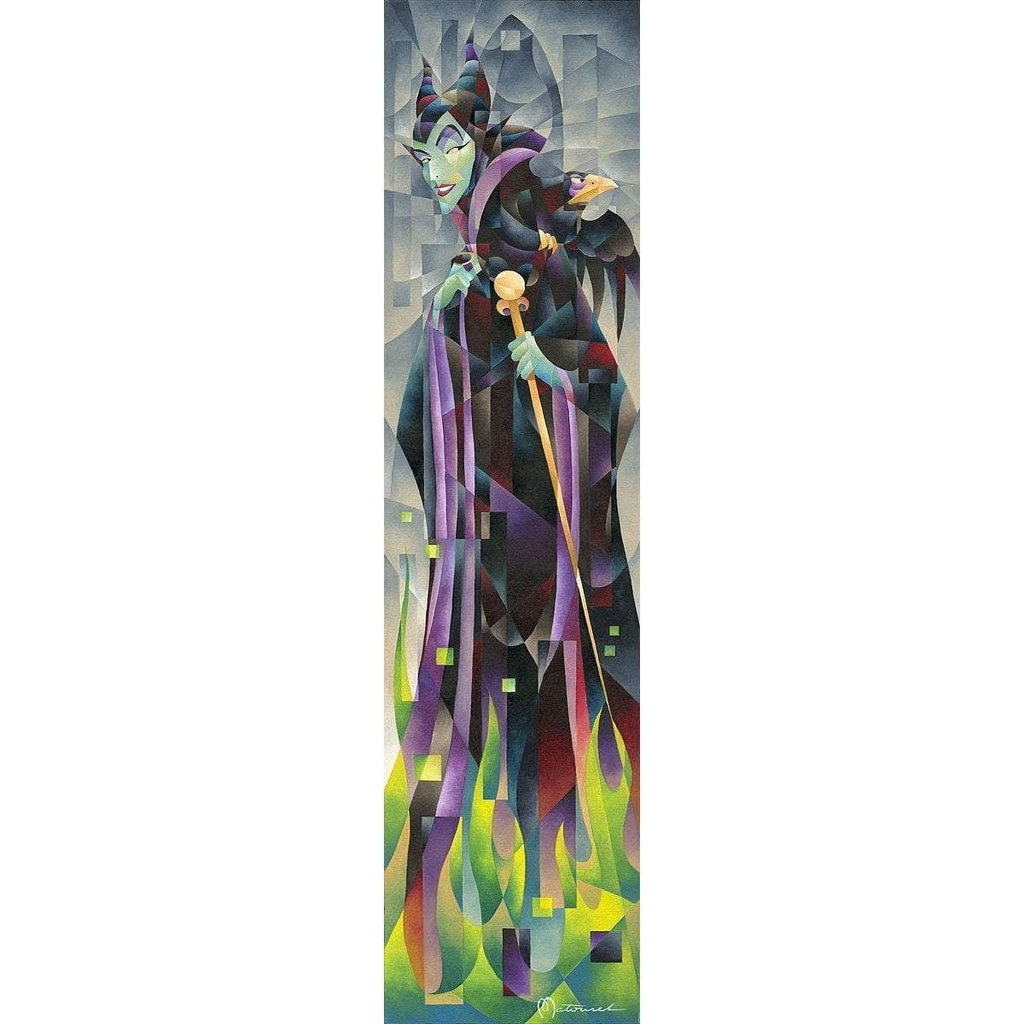 Disney Fine Art Flames of Maleficent