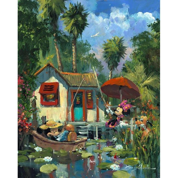 Disney Fine Art Florida Fishin