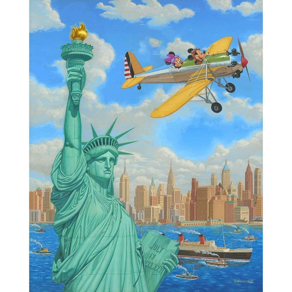 Disney Fine Art Freedom Flight